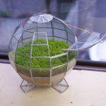 球体のステンドグラステラリウム