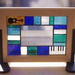 ピアノとギターのウェルカムボード