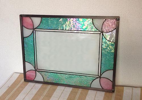 ステンドグラスのウェルカムボード
