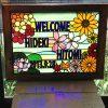 花のウェルカムボード