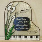 ピアノのウェルカムボード