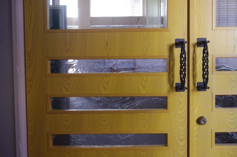 東洋大牛久図書室ドア