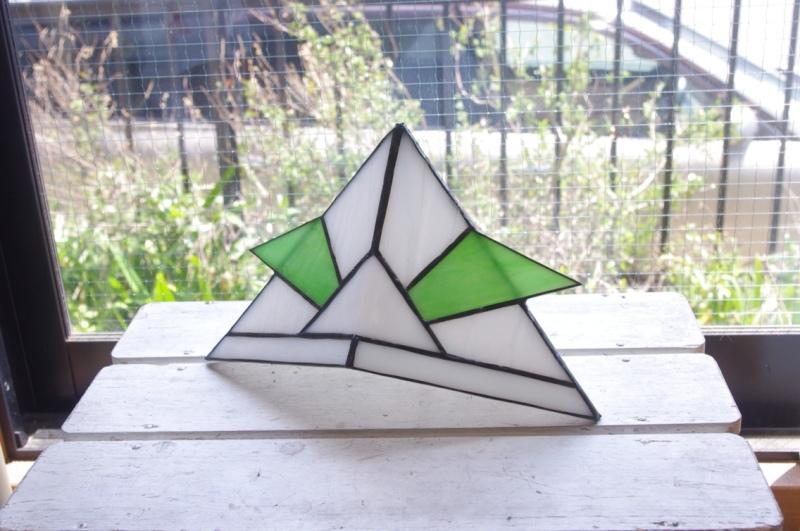 ステンドグラス折り紙