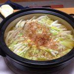 味の素のCMに出てくる白菜と豚バラの重ね鍋。