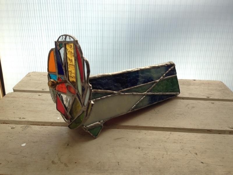 ステンドグラスの万華鏡
