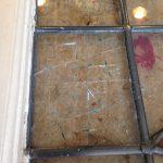 アンティークステンドグラスの修理