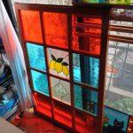 ステンドグラスの建具