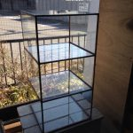 ガラス棚2台目