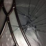 ステンドグラス修理(ジンクのメッキあり)