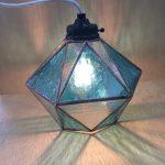 生徒さんの作品。ひし形のランプ