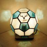 サッカーボールランプ