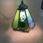 生徒さんの作品。ランプ