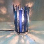 生徒さんの作品。行灯のランプ