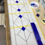鉛ケイム組パネルの作り方